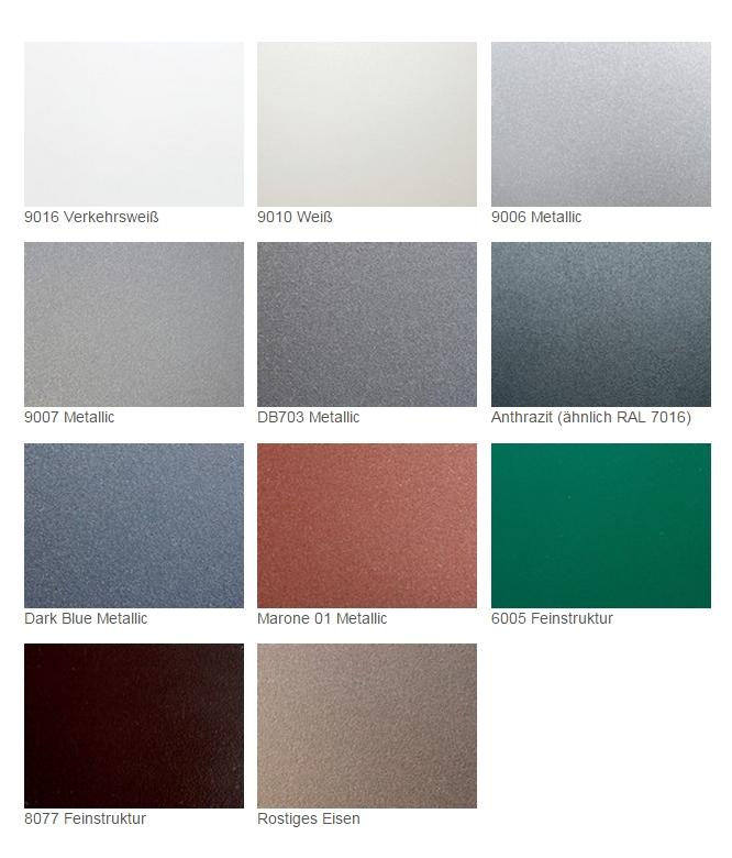Ral farben metallic metallic farben